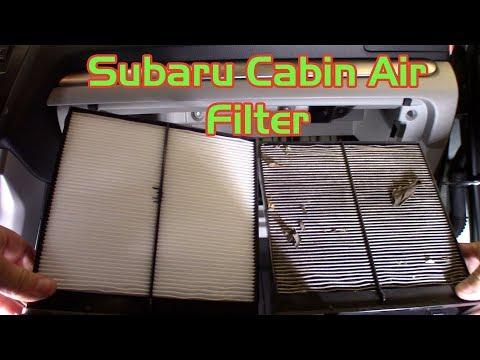 Subrau Cabin Air Filter Replacement - Forester, Crosstrek, Impreza
