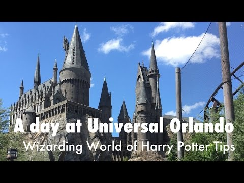 Universal Orlando Resort Florida and Wizarding World of Harry Potter Tips