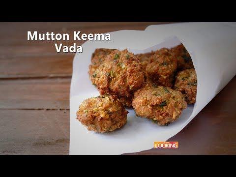 Mutton Keema Vada   Kari vadai   Kheema vada   Minced meat snacks   Ventuno Home Cooking