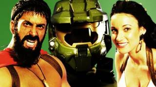 Epic Rap Battles Of History - Behind The Scenes - Master Chief vs Leonidas