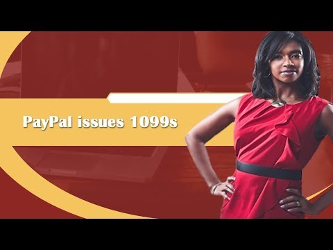 PayPal issues 1099s