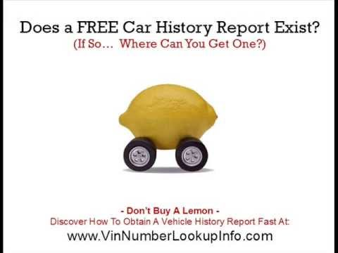 Does A Free Car History Report Exist? Used Car Expert Reveals The Truth...