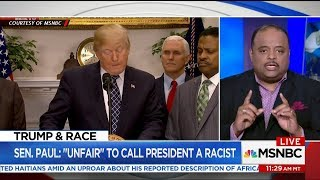 Sen. Paul Defends Trump After 'Sh*thole' Comment, Says It's 'Unfair' To Call #45 Racist