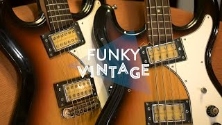 Funky Vintage: Univox Hi-Flier Phase 3 Guitar and Bass