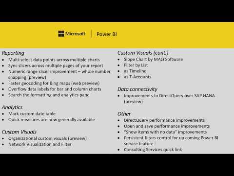 Power BI Desktop Update - February 2018