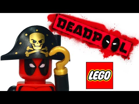 LEGO Deadpool Custom Minifigure Collection