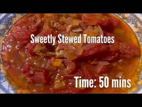 Sweetly Stewed Tomatoes Recipe