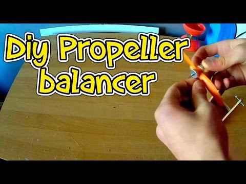 DIY magnetic prop ballancer