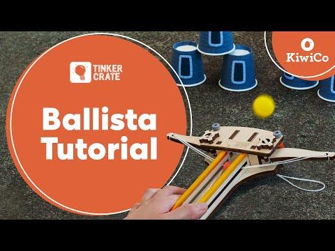 Build a Wooden Ballista - Tinker Crate Project