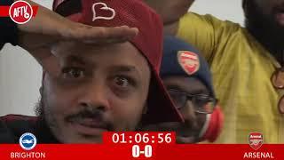 Brighton 2-1 Arsenal | Watch Along Clips