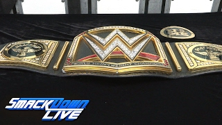 Bray Wyatt receives custom plates for his newly won WWE Championship: Exclusive, Feb. 14, 2017