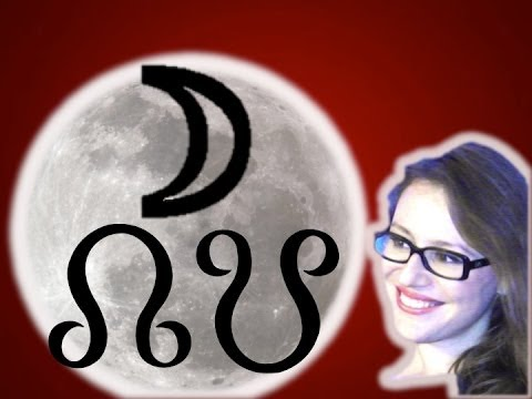 Moon with North Node. Moon with South Node. Karmic Astrology