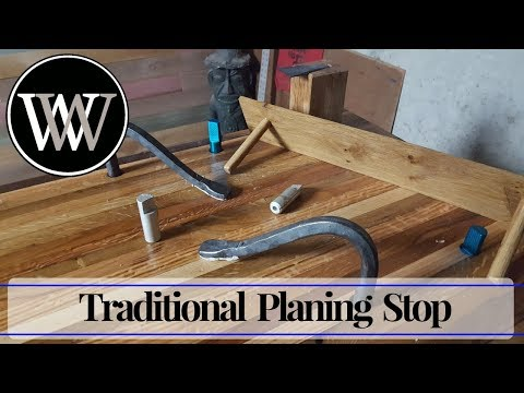 How to Make a Planing Stop for The Wood By Wright Hand Tool Bench