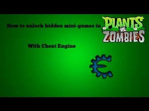 How to unlock Hidden Mini Games | Plants vs  Zombies Tutorial &25hf4hs