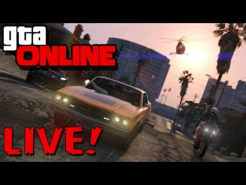 GTA Online! LIVE - NEW Online Patch Day! - Grand Theft Auto V (5) - GTA 5 (Livestream Gameplay)