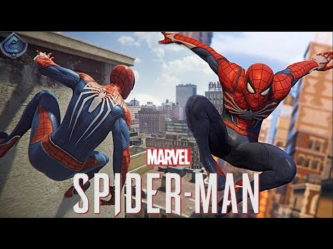 Spider-Man PS4 - New Free Roam Gameplay and Web Swinging Controls!