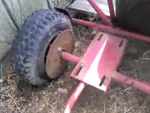 Go kart build with dirt bike moter 1