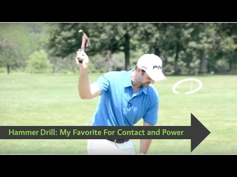 Golf   Increase Speed and Consistency With Hammer Drill For a Natural Golf Swing
