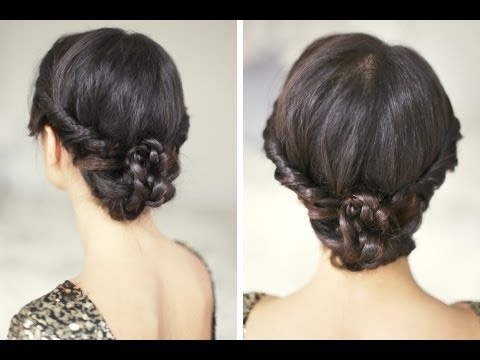 Holiday hairstyle tutorial