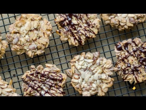 Almond Florentine Cookies Recipe - Honeysuckle Catering