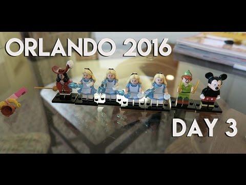 ORLANDO & FLORIDA VLOG   DAY 3   A NON DAY & RED LOBSTER! - 2016