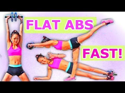 HOW TO GET A SIX PACK IN 3 MINUTES!!!!