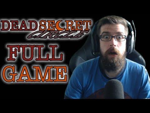 Dead Secret Circle - Let's Play (w/ Facecam) (FULL GAME)