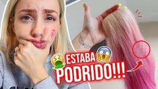 QUE LE PASÓ A MI CABELLO??!!! 😱 LA VERDAD SOBRE MIS EXTENSIONES 😰 | 10 Mayo 2019