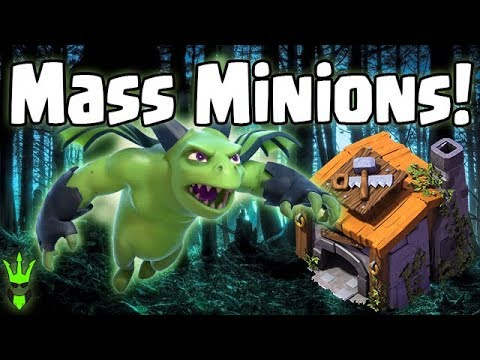 MASS BETA MINIONS AT BH6 - Builder Hall 6 Attack Strategies - Clash of Clans - Meta Minion