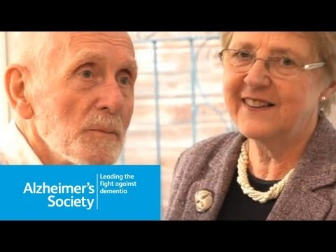 Dementia symptoms, diagnosis, relationships and getting support - Peter and Sheila's story