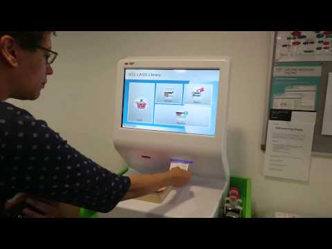 Using our self service machines