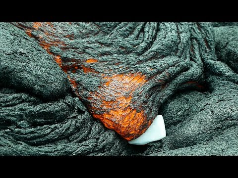 What Happens If You Put Dry Ice in Hot Lava?