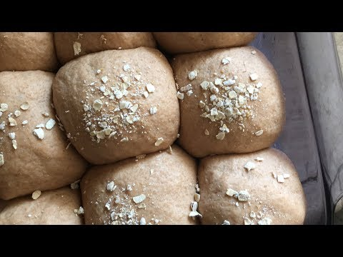 Fresh and Fluffy 100% Whole Wheat Rolls in under 30 min | vegan, simple, and soft