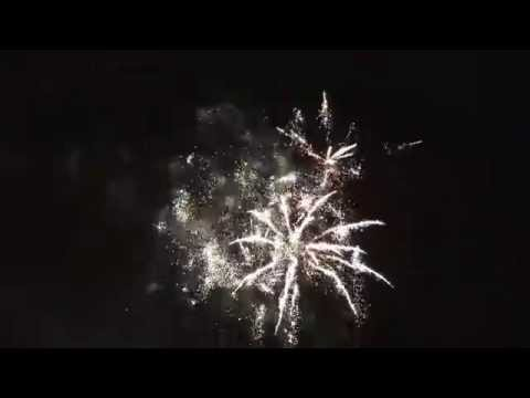 Halloween fireworks show at southarm Richmond 2015