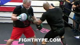 MIGUEL COTTO LIGHTS UP FREDDIE ROACH ON MITTS; IN VINTAGE FORM AHEAD OF FINAL FIGHT VS. SADAM ALI