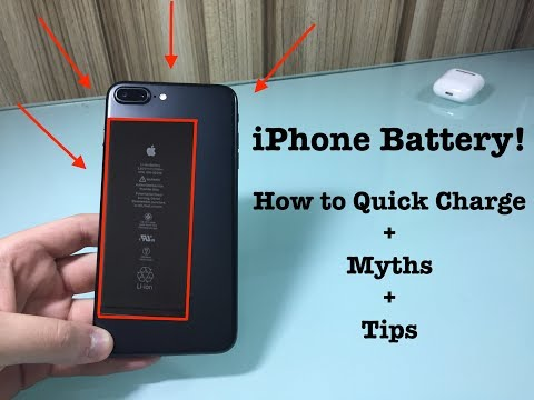 iPhone Battery: How to Quick Charge + Myths + Tips