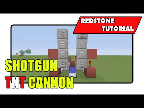 Shotgun TNT Cannon