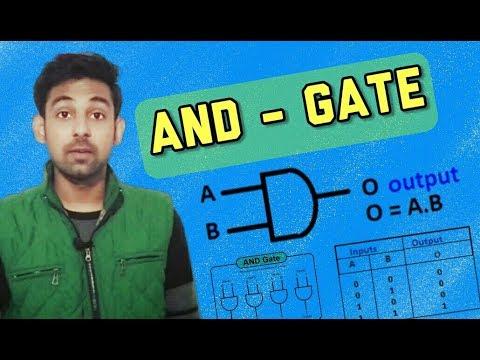 AND - Gate In Hindi By Nirbhay Kaushik ( Digital Electronics )