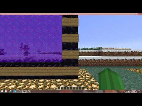 Minecraft Biggest Nether Portal Possible