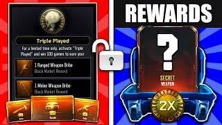 3 new dlc weapons in 1 weapon bribe supply drop opening bo3 new