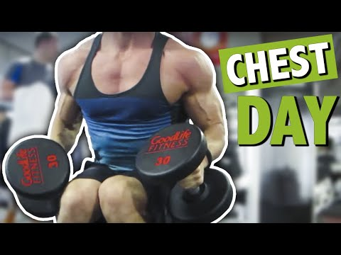 Chest Pumping Giant Set Chest Workout