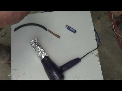 Easiest Evap Smoke Machine for $3 and 3 minutes, error code P0442 and P0445