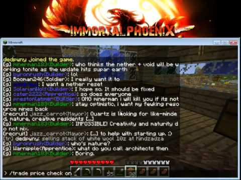 Minecraft LIVE - ImDeity & Super-Earth Servers -- Episode 6 (PUBLIC Server) - mc.imdiety.com & mc.su