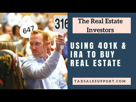 Using Self Directed IRA's & 401K's to invest in Real Estate!