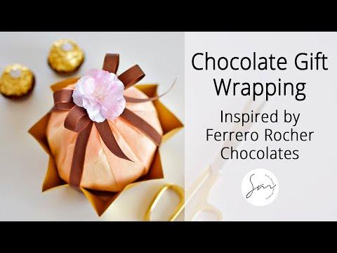 A Fun & Cute Way to Make Ferrero Rocher Style Gift Wrapping
