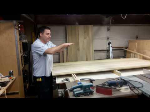 Building Double Barn Doors: Panel Prep 1