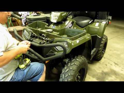 Installing Bumper on 2014 Polaris 570 Sportsman