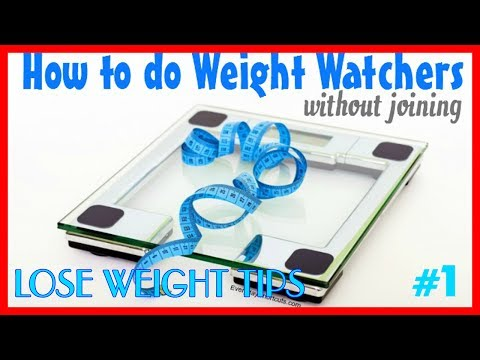 WEIGHT WATCHERS ♡  How to do Weight Watchers without joining?
