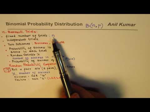 Binomial Probability Concept in Details with an Example