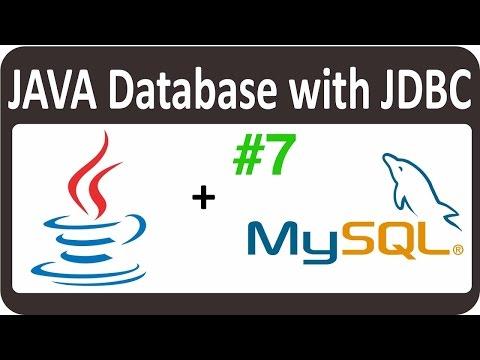 JAVA JDBC Tutorial for Beginners - Moving Cursor to retrieve Data 07